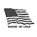 """Наклейка на авто """"Сделано в США"""""""