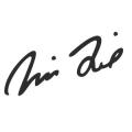 """Наклейка на авто """"Автограф Вина Дизеля"""""""