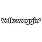 """Наклейка на авто """"Фольксваггинг"""""""