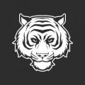 """Наклейка на авто """"Белый тигр"""""""