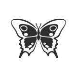 "Наклейка на авто ""Бабочка 5"""