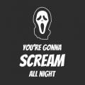 """Наклейка на авто """"Вы будете кричать всю ночь"""""""