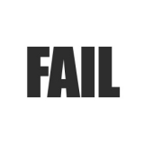 "Наклейка на авто ""Fail"""