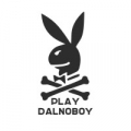 "Наклейка на авто ""Play Dalnoboy"""