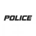 "Наклейка на авто ""Police"""