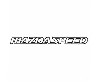 "Наклейка на авто ""Mazda speed"" ENG 90 х 8,2 см"