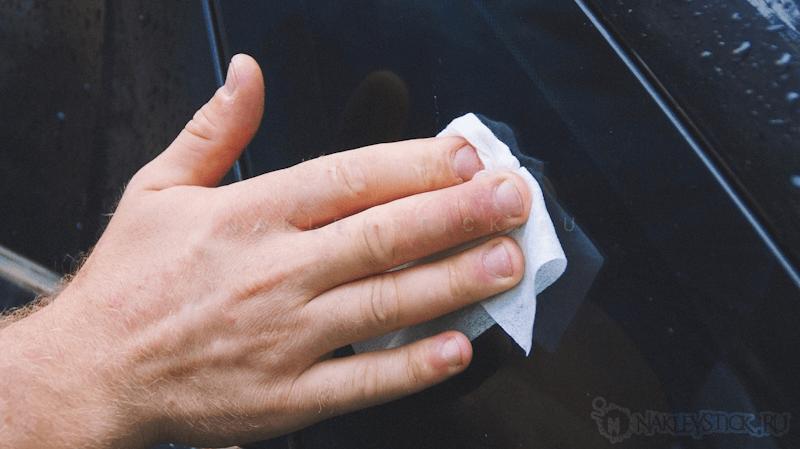 Как удалить виниловую наклейку шаг 8